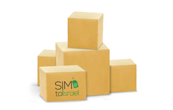 sim card shipping options simtoisrael ems